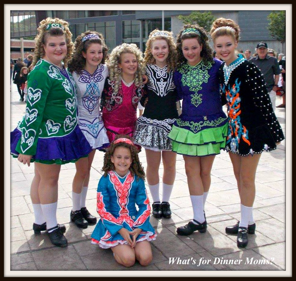 Senior Class Irish Dancers