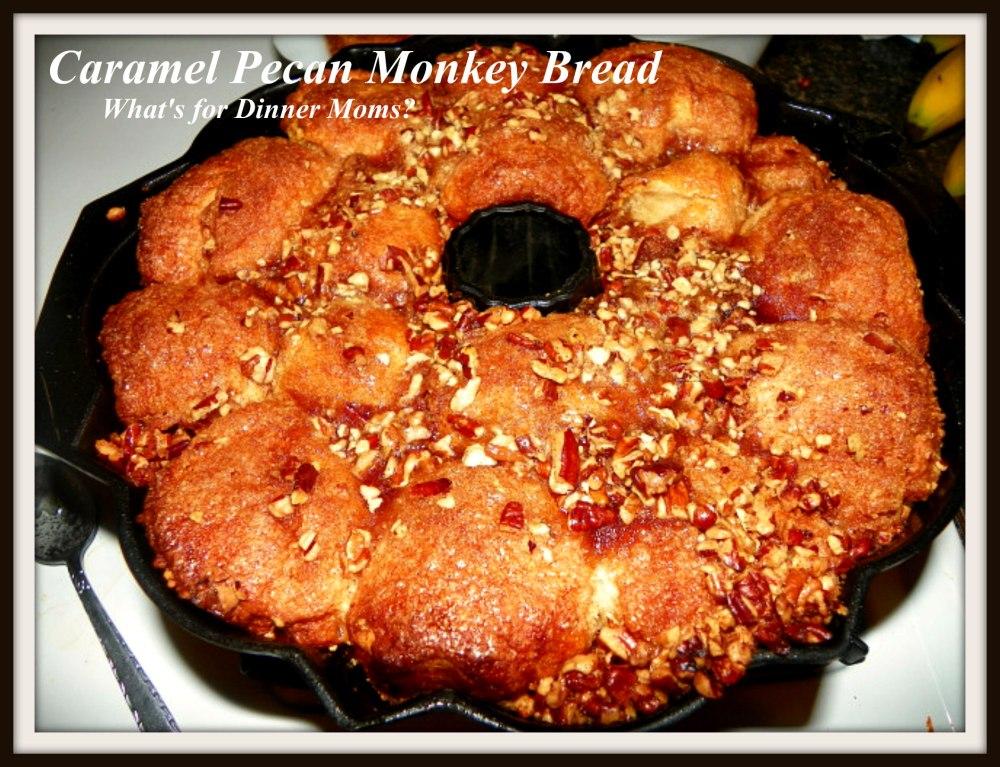 Caramel Pecan Monkey Bread