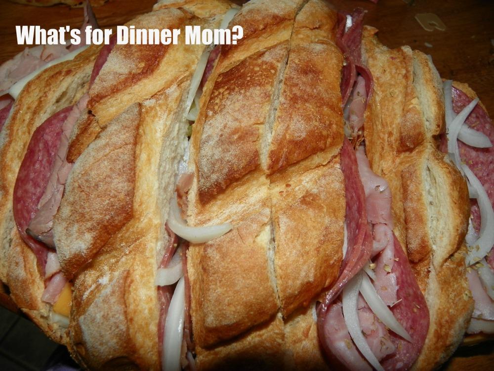 Slow Cooker Hot Sandwich