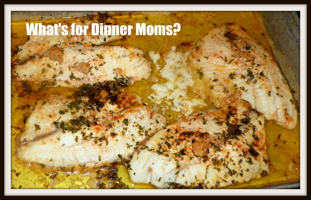 Lemon Butter Tilapia