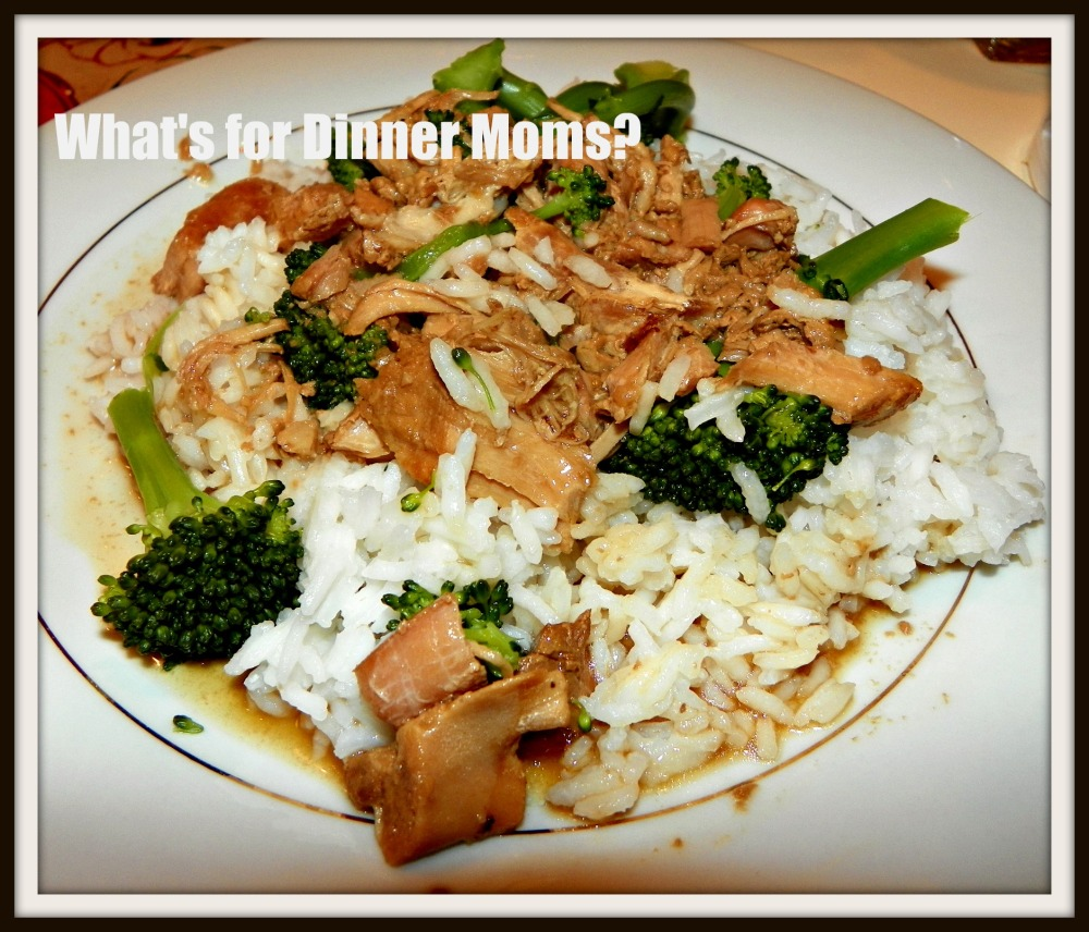 Slow Cooker Chinese Pork and Broccoli