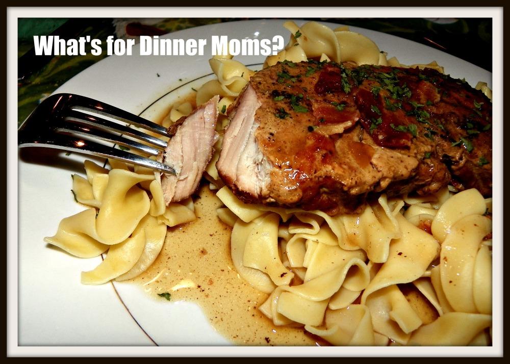 Slow Cooker Smothered Boneless Pork Chops