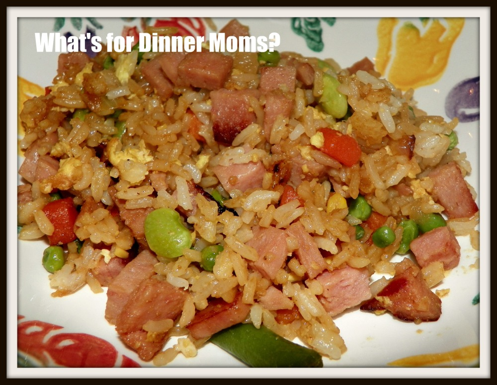 Fried Rice with Spam