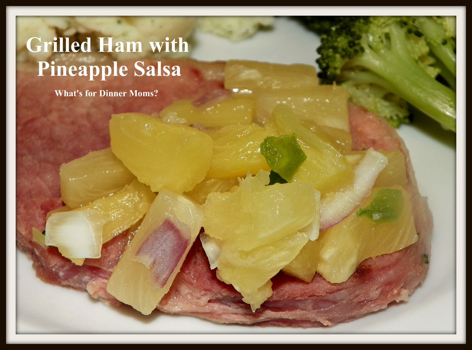 how to make ham and pineapple