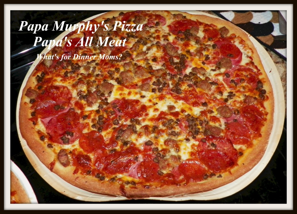 Papa Murphy's All Meat Pizza
