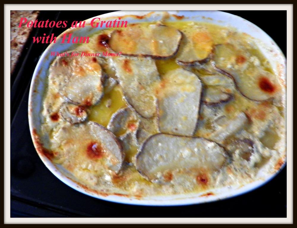 Potatoes au Gratin with Ham