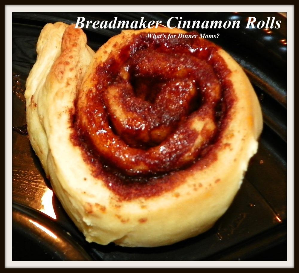 Unfrosted Breadmaker Cinnamon Roll