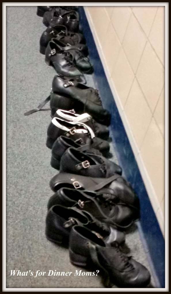 Hard Shoes Lined Up