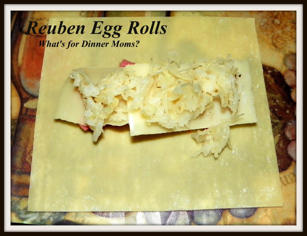Reuben Egg Rolls - How to prepare