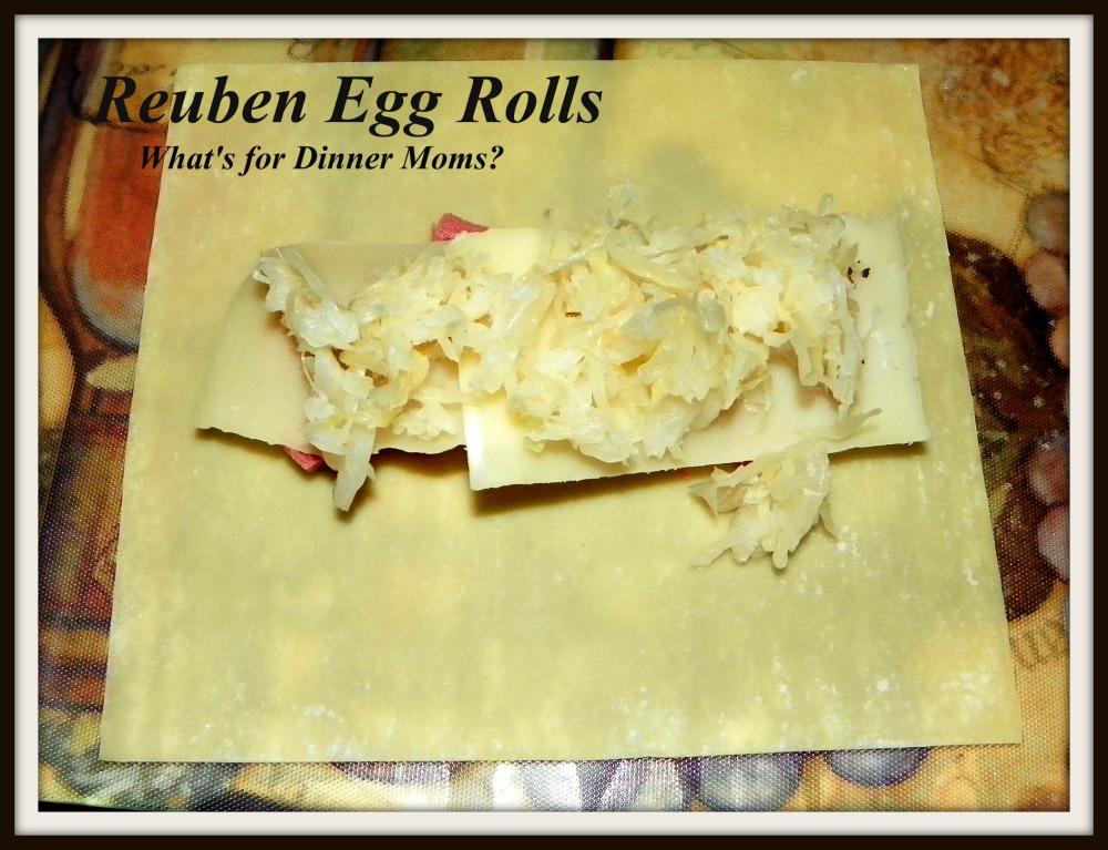 Reuben Egg Rolls - How to prepare