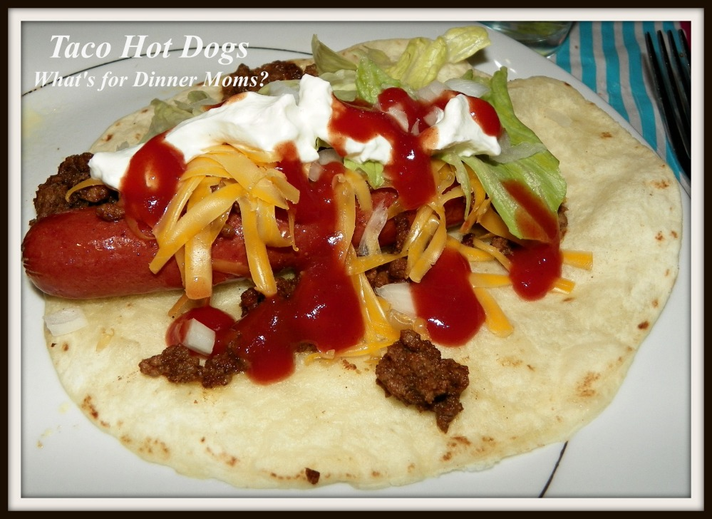 Taco Hot Dogs