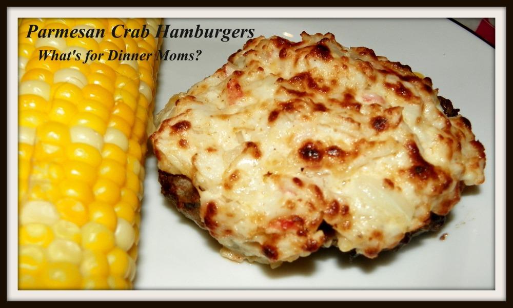 Parmesan Crab Hamburgers