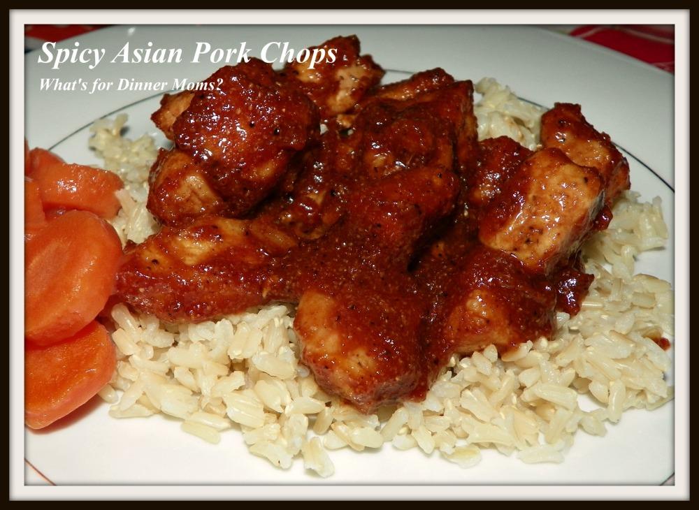 Spicy Asian Pork Chops