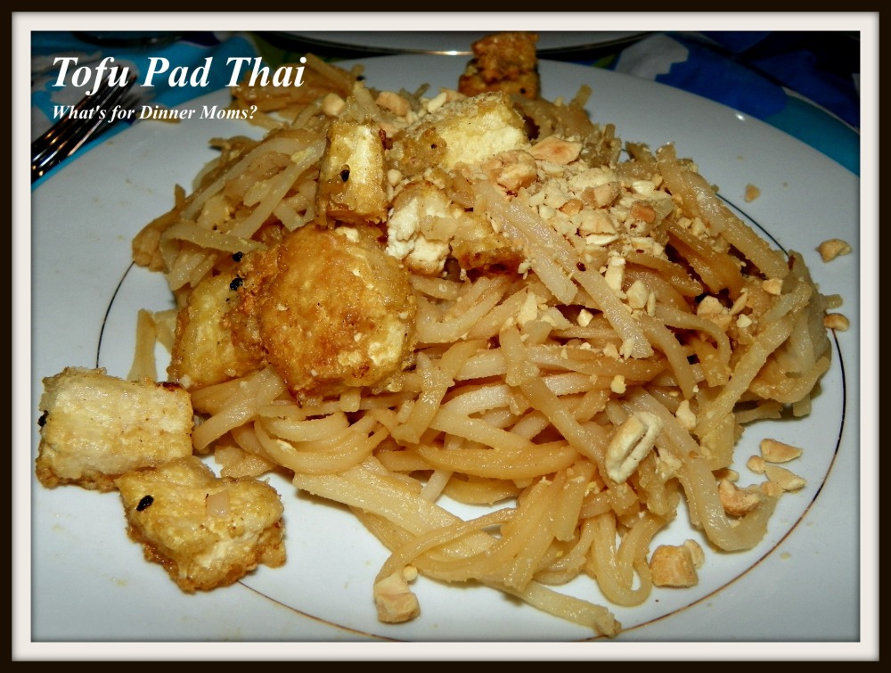 Tofu Pad Thai - What's for Dinner Moms