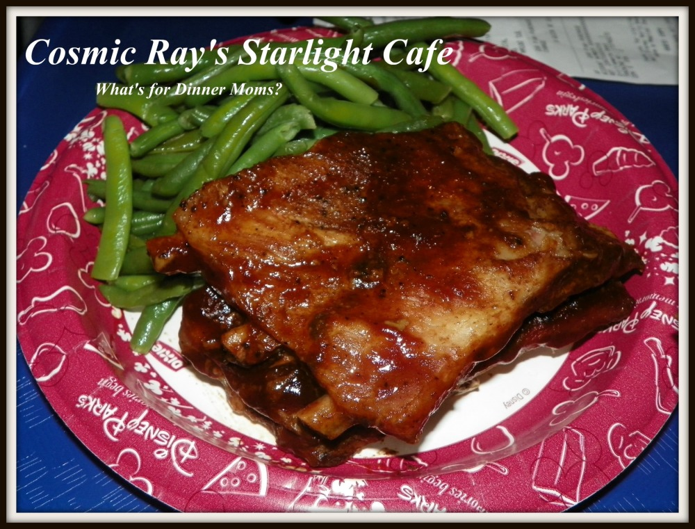 Cosmic Ray's Starlight Cafe - What's for Dinner Moms