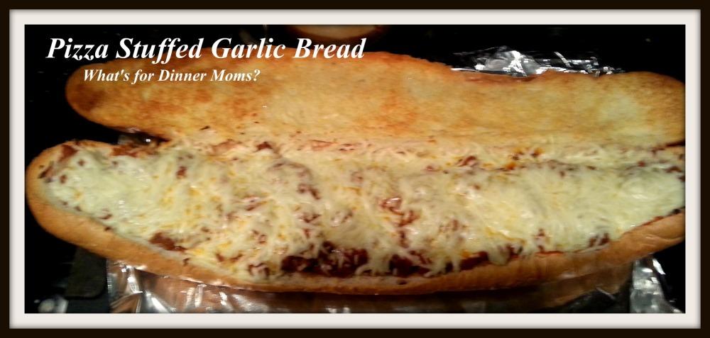 Pizza Stuffed Garlic Bread (3)