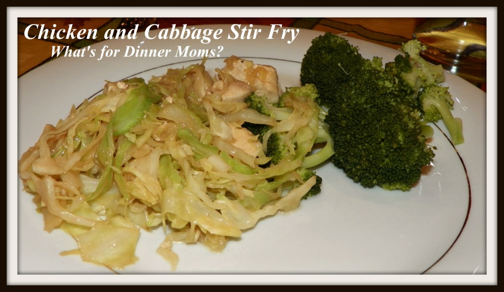 Chicken and Cabbage Stir Fry