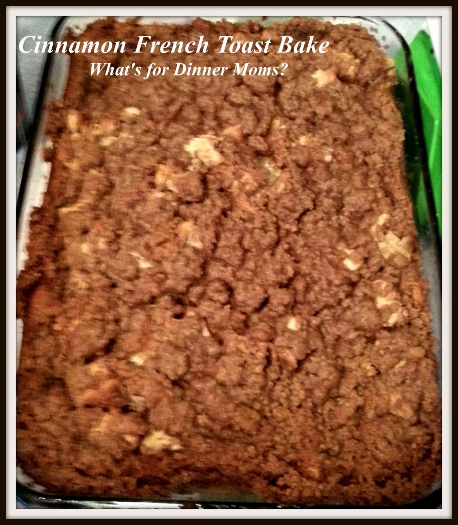 Cinnamon French Toast Bake (whole)