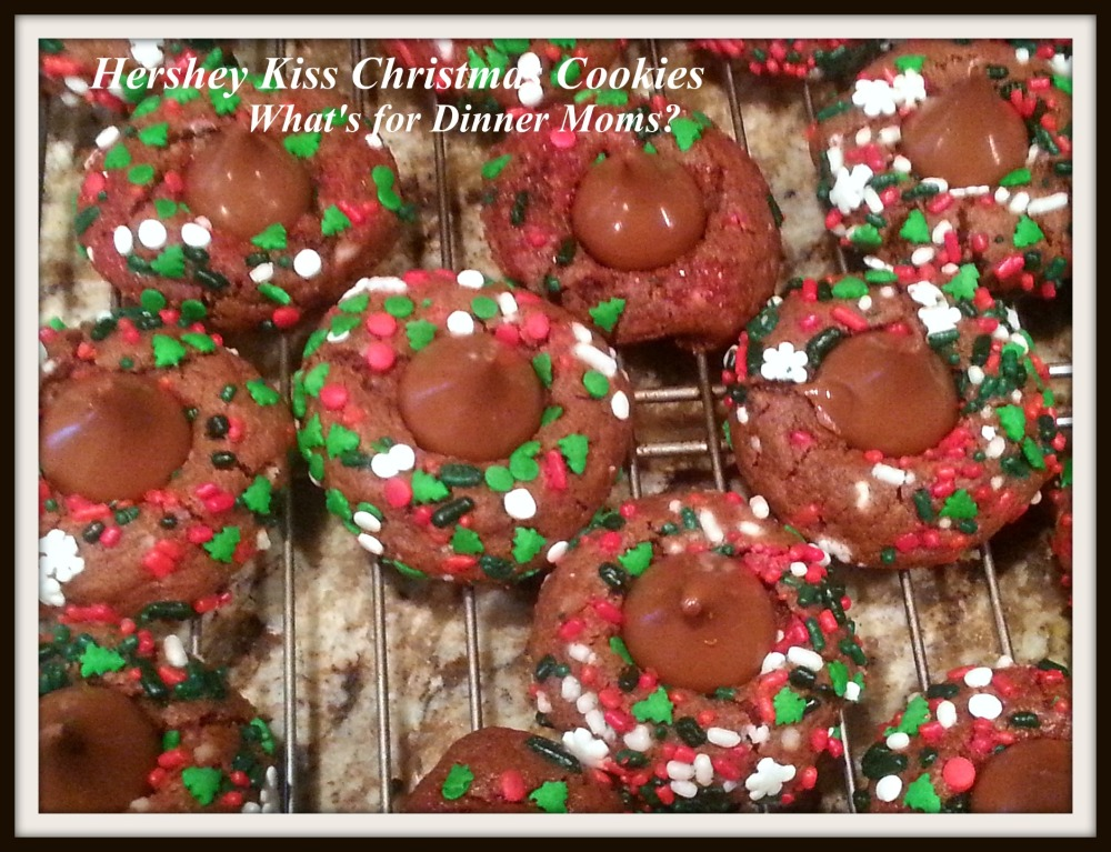 Hershey Kiss Christmas Cookies
