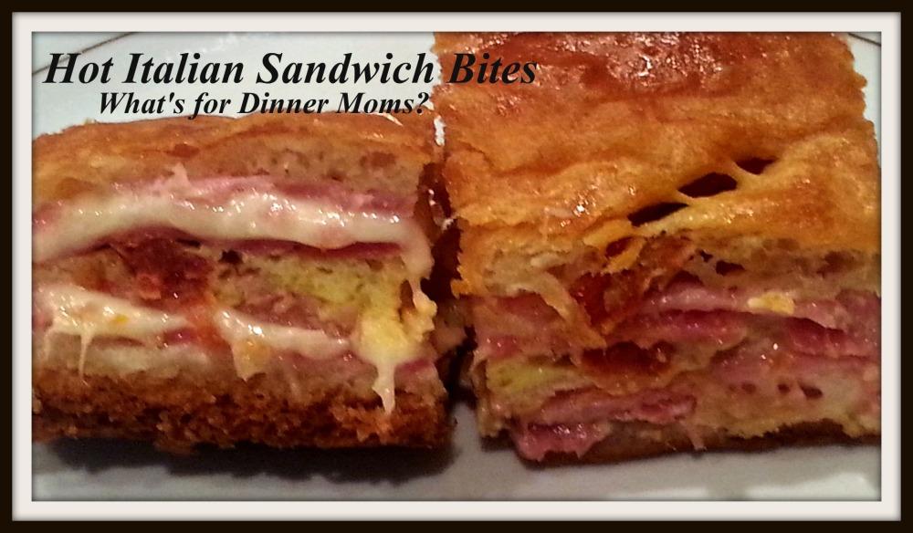 Hot Italian Sandwich Bites