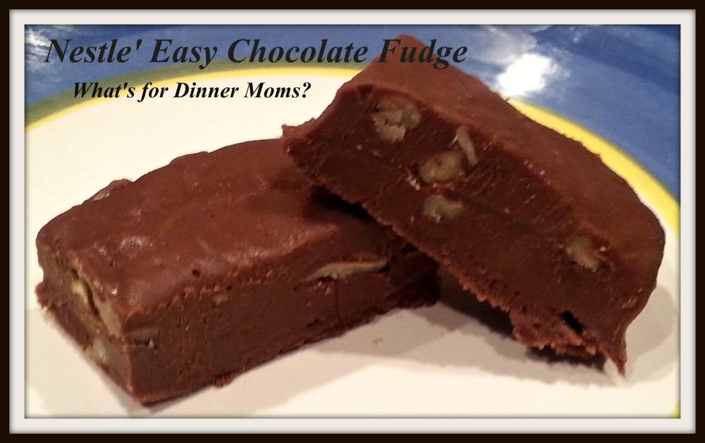Nestle Easy Chocolate Fudge