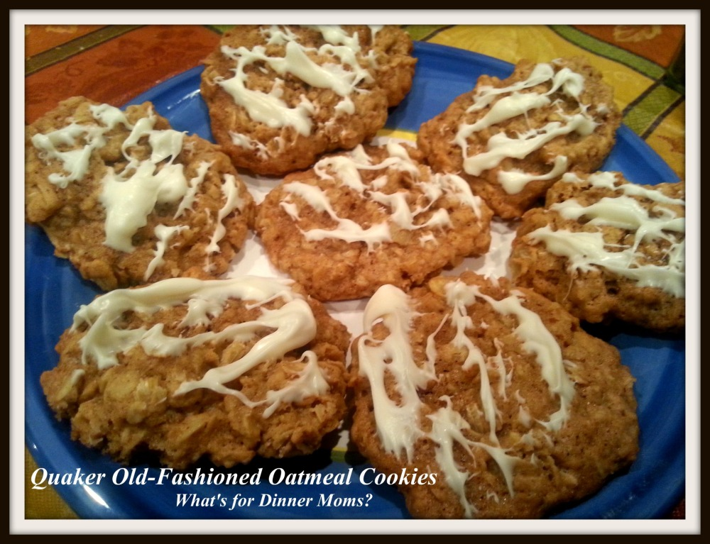 Quaker Old-Fashioned Oatmeal Cookies