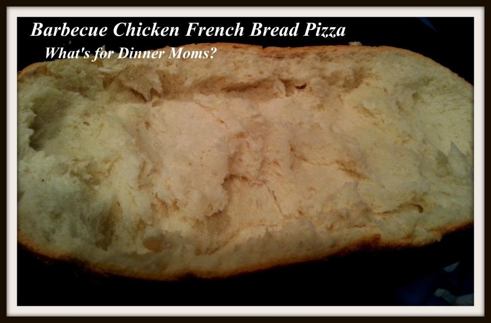 Barbecue Chicken French Bread Pizza (bread)
