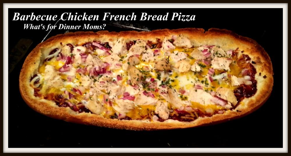 Barbecue Chicken French Bread Pizza - Whole