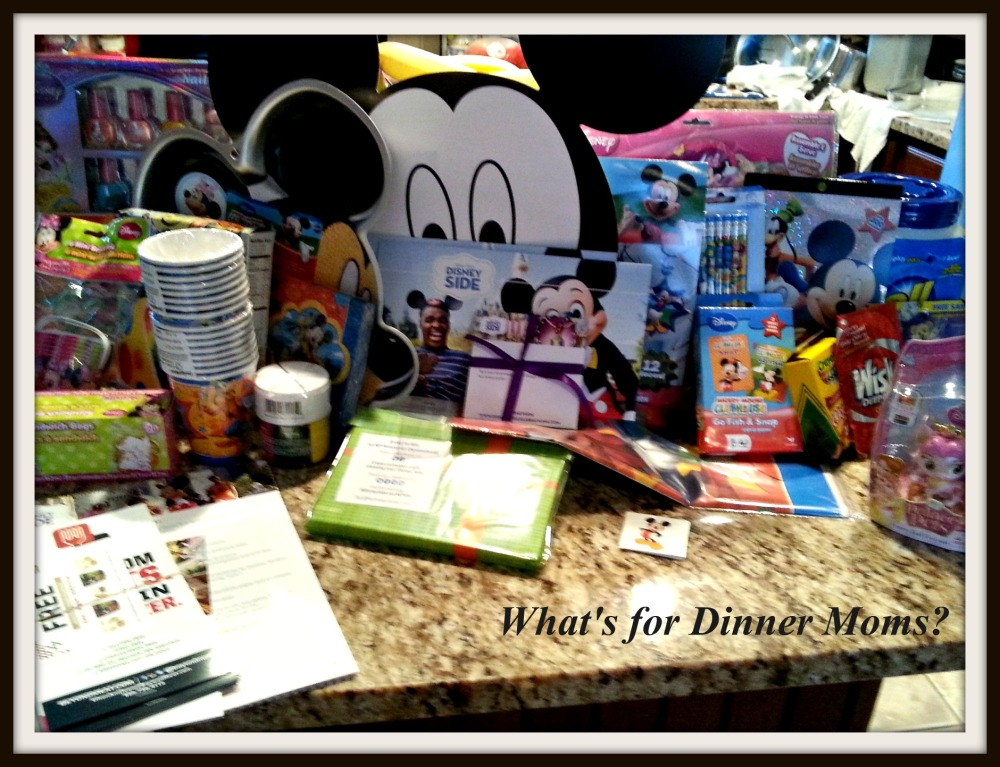 Inside the #Disneyside Home Celebrations box