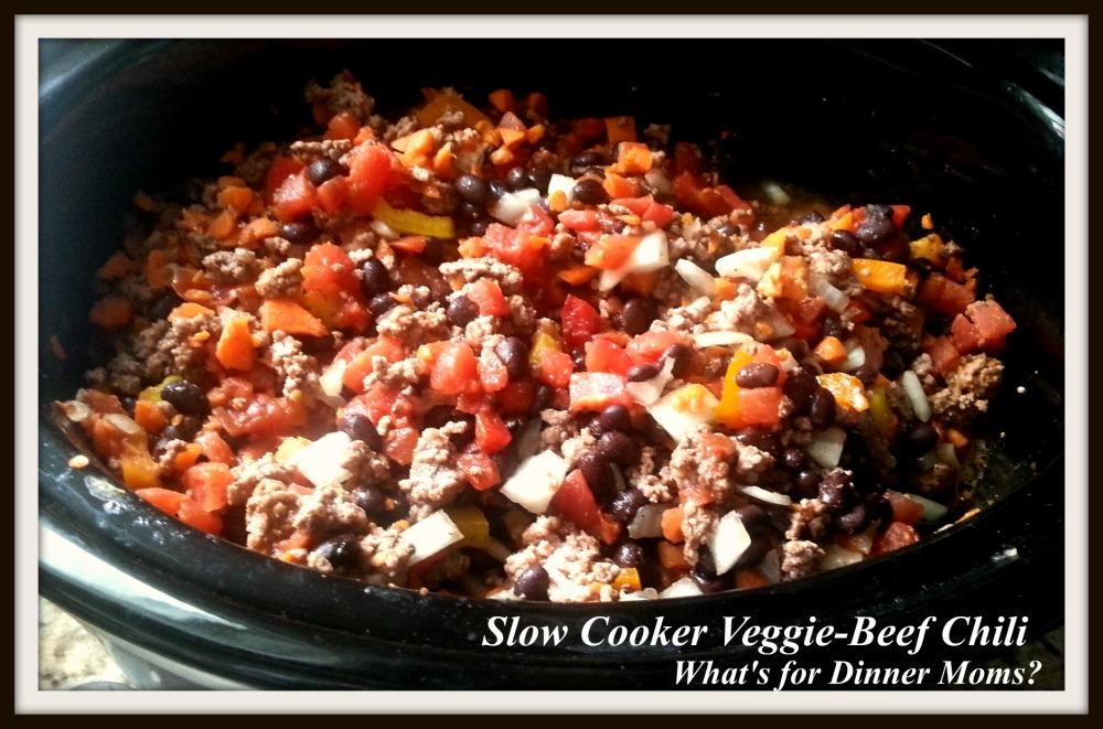 Slow Cooker Veggie-Beef Chili