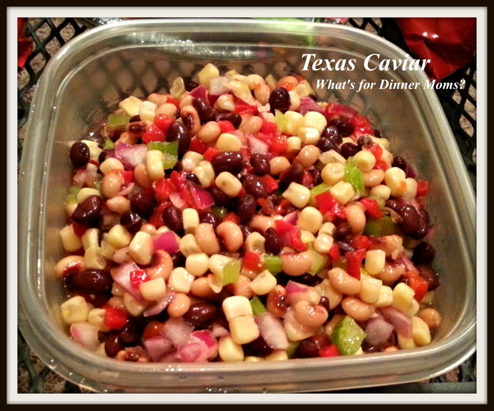 Texas Caviar - What's for Dinner Moms
