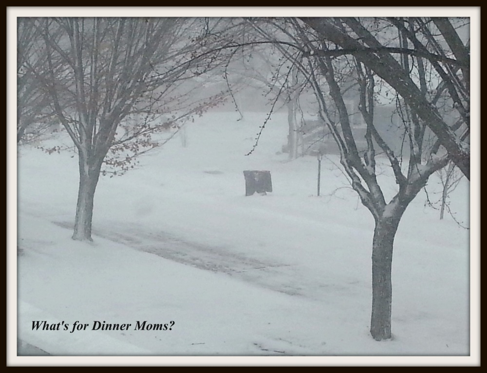 Winter Weather - What's for Dinner Moms
