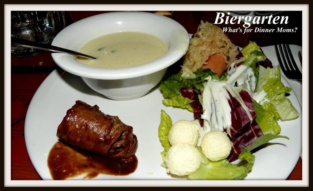 Biergarten - What's for Dinner Moms