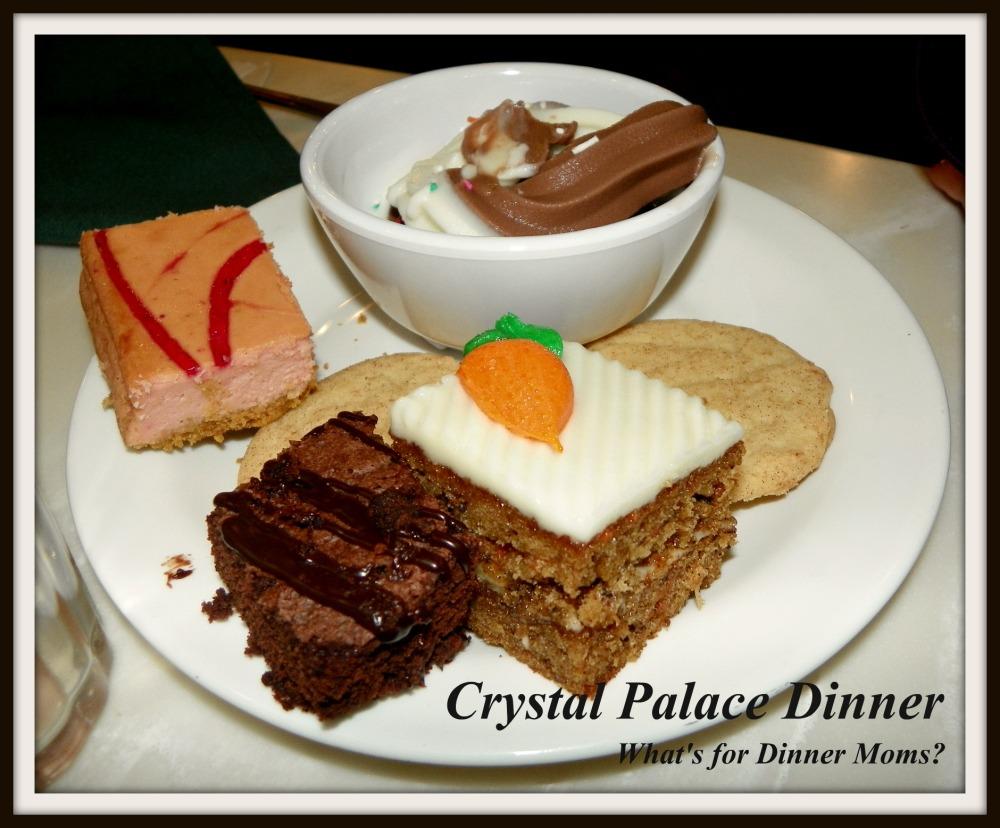 Copy of Crystal Palace Dinner (desserts)