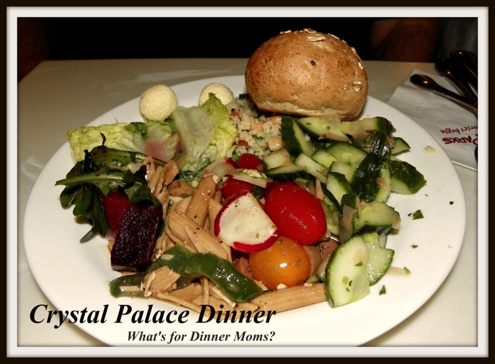 Crystal Palace Dinner (plate 3)
