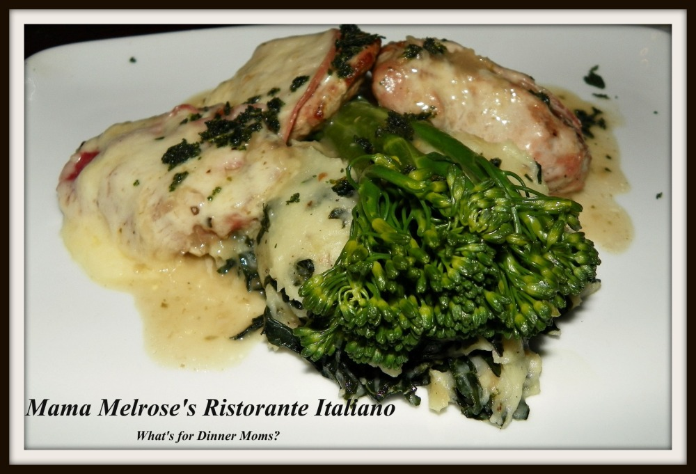 Saltimbocca - What's for Dinner Moms