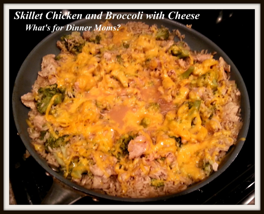 Skillet Chicken and Broccoli with Cheese