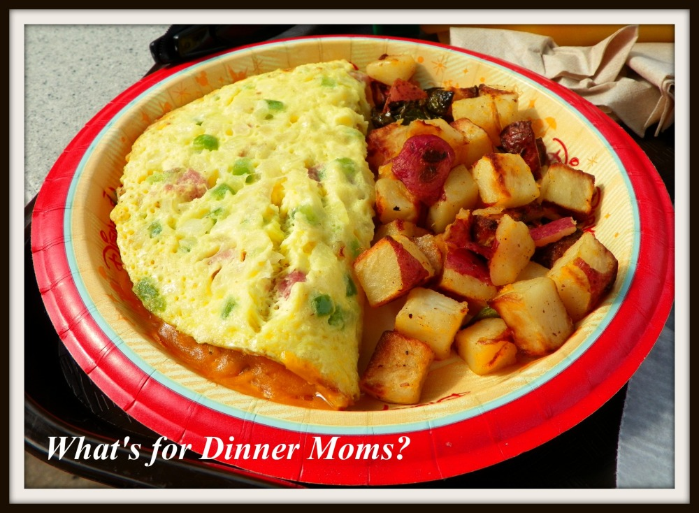 Western Omlet - What's for Dinner Moms