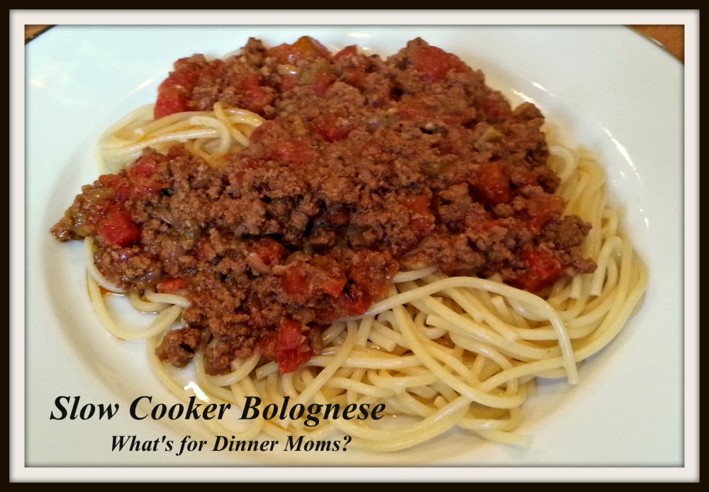 Slow Cooker Bolognese