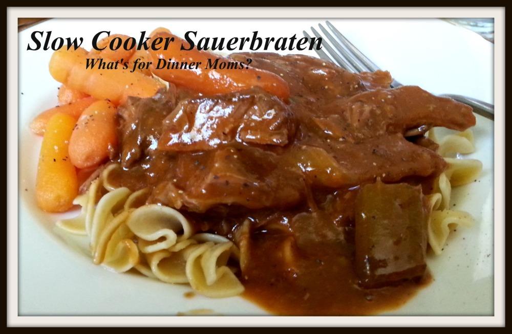 Slow Cooker Sauerbraten