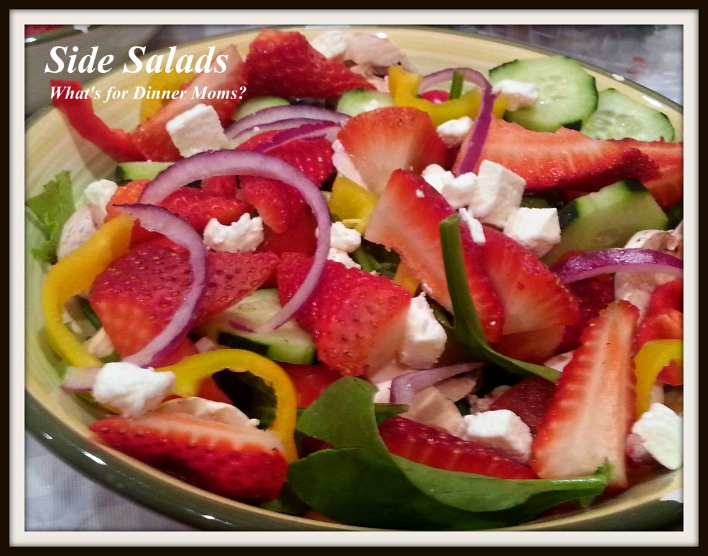 Strawberry Side Salad