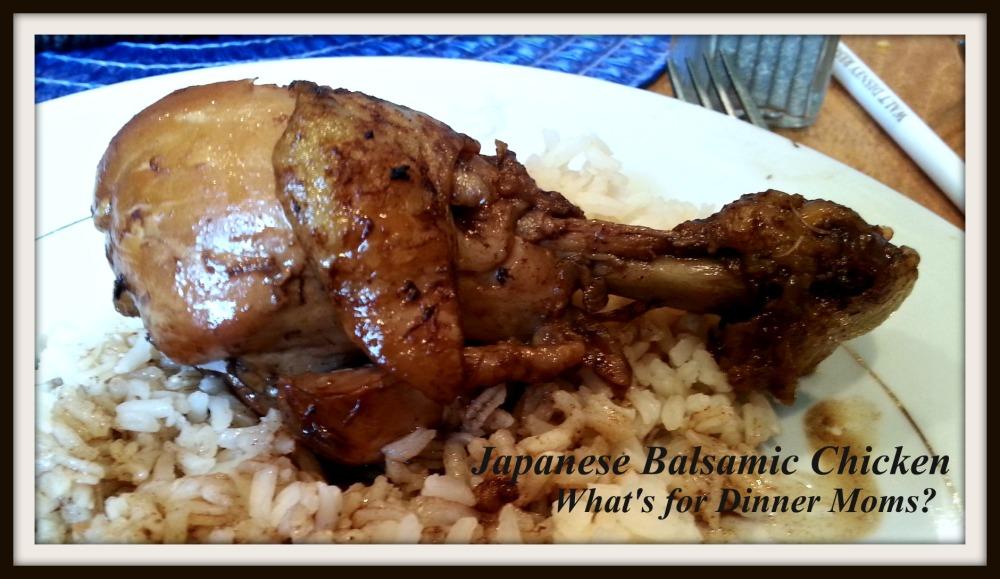 Japanese Balsamic Chicken