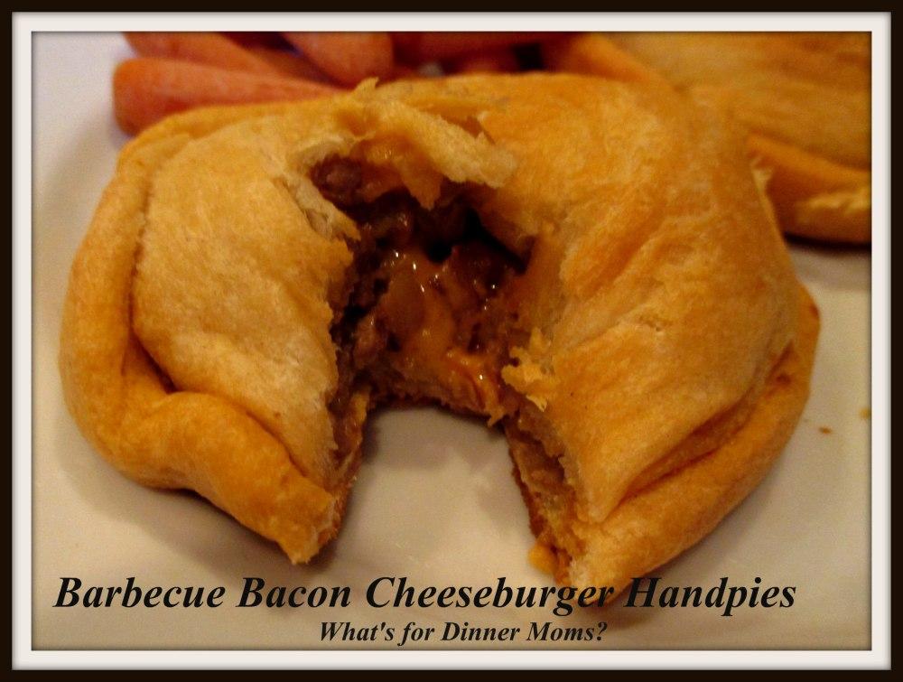 Barbecue Bacon Cheeseburger Handpies (cut)
