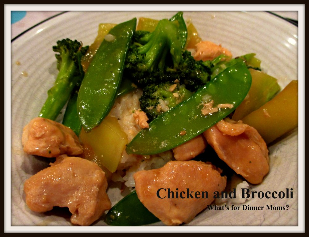 Chicken and Broccoli