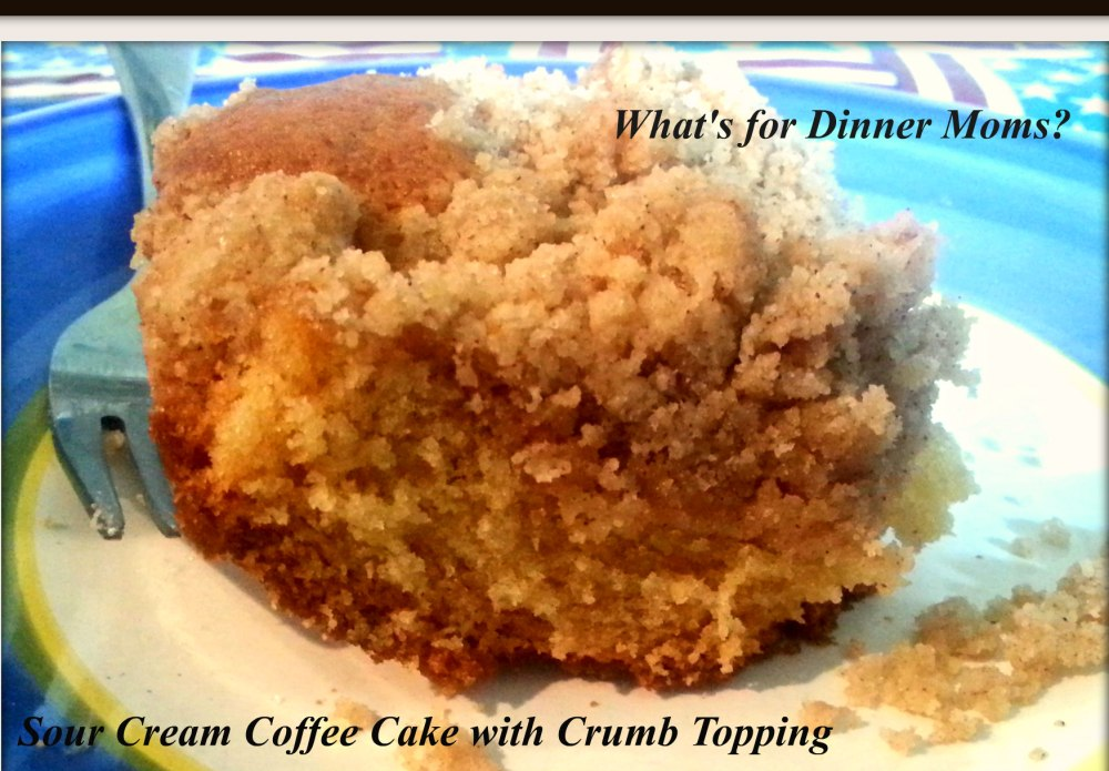 Sour Cream Coffee Cake with Crumb Topping