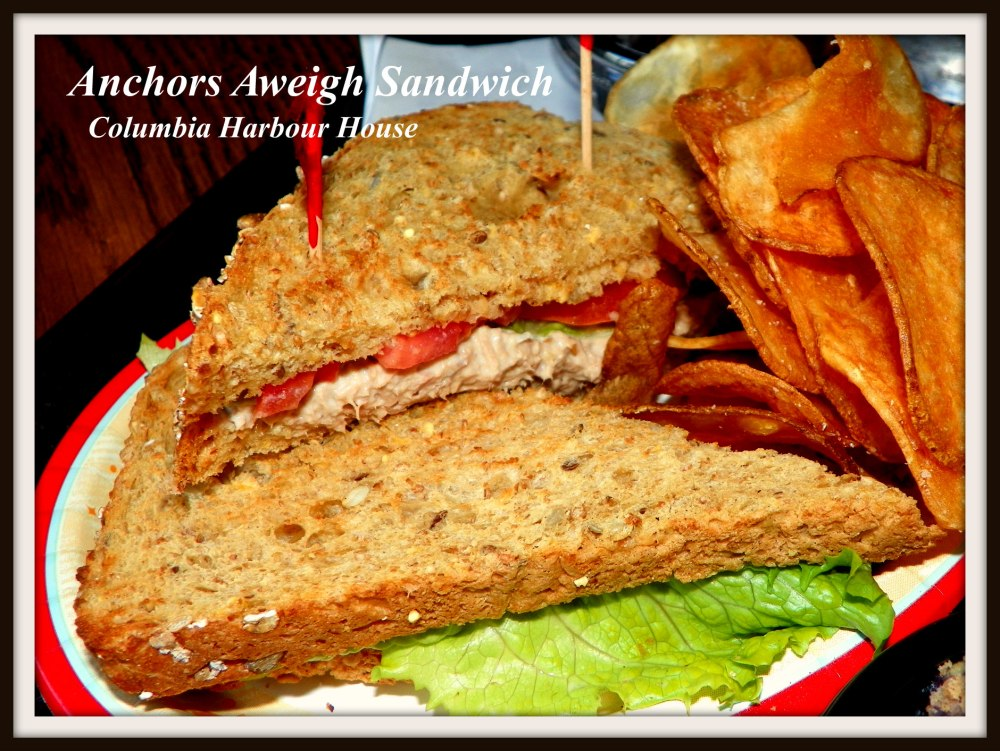 Columbia Harbour House - Anchors Aweigh Sandwich