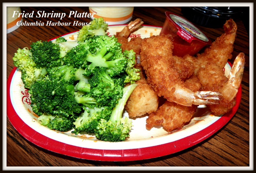 Columbia Harbour House- Fried Shrimp Platter