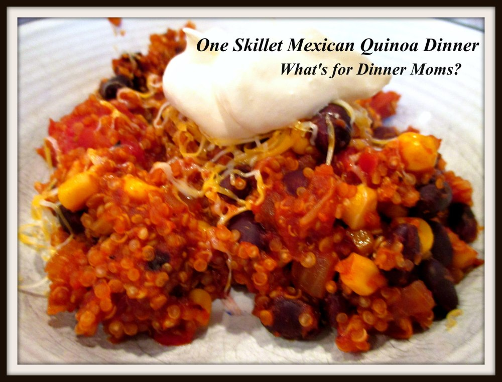 One Skillet Mexican Quinoa Dinner