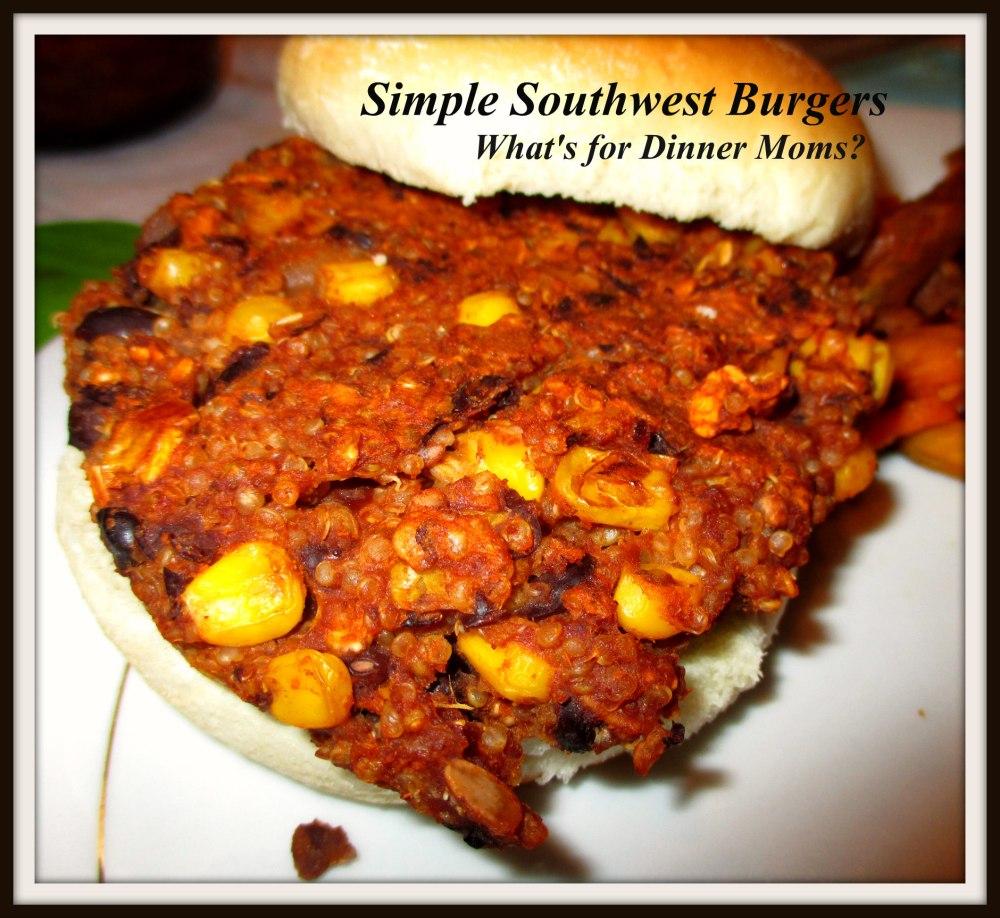 Simple Southwest Burgers
