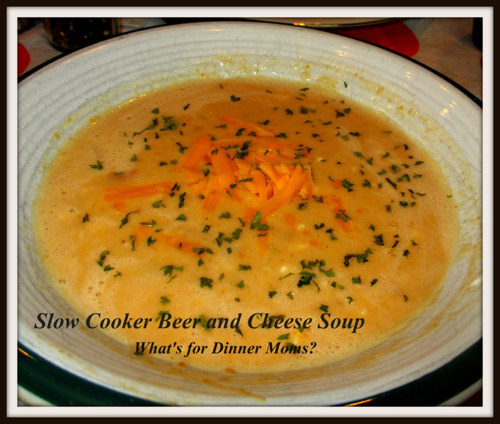 Slow Cooker Beer and Cheese Soup